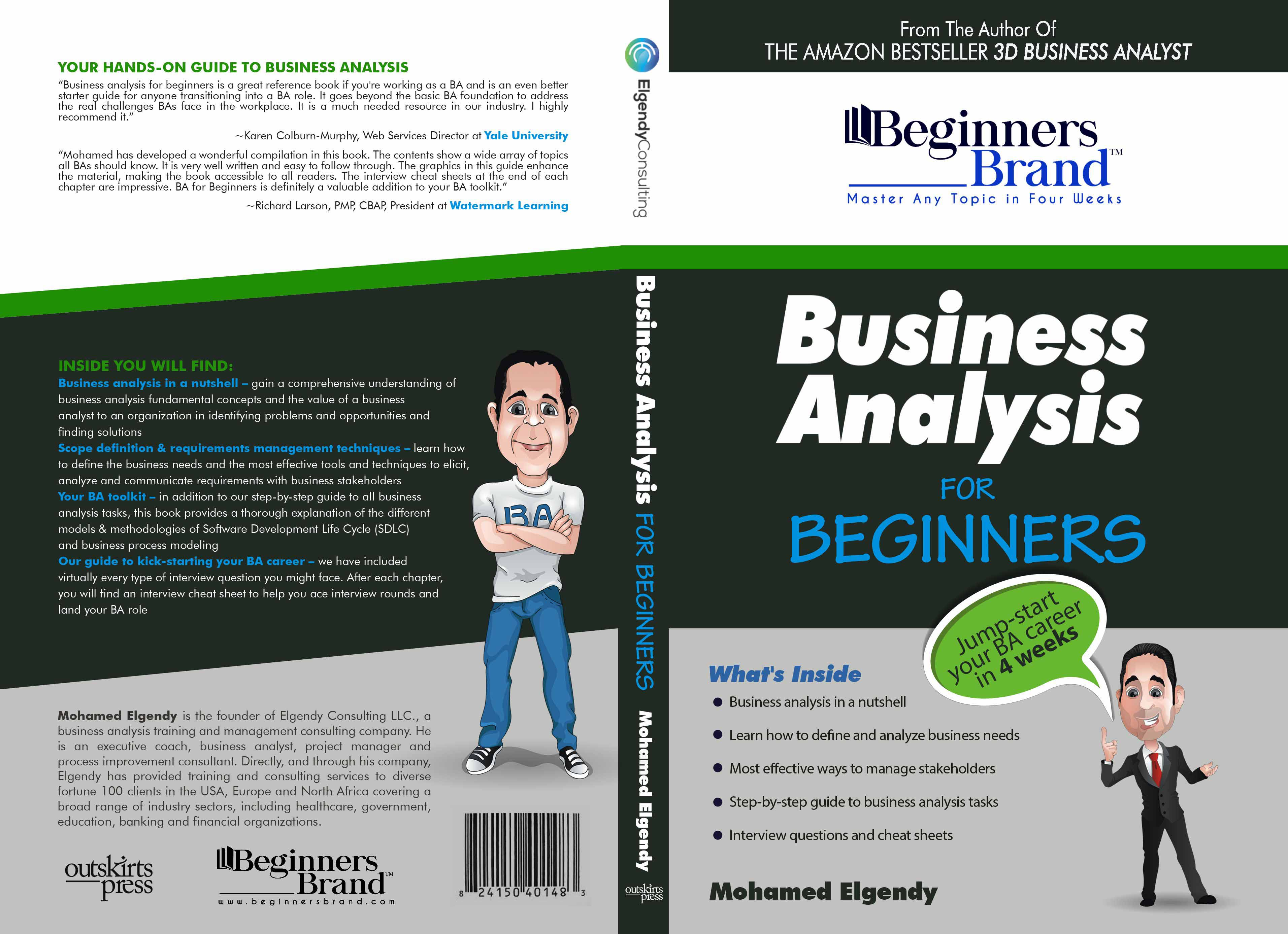 business analysis books for beginners pdf
